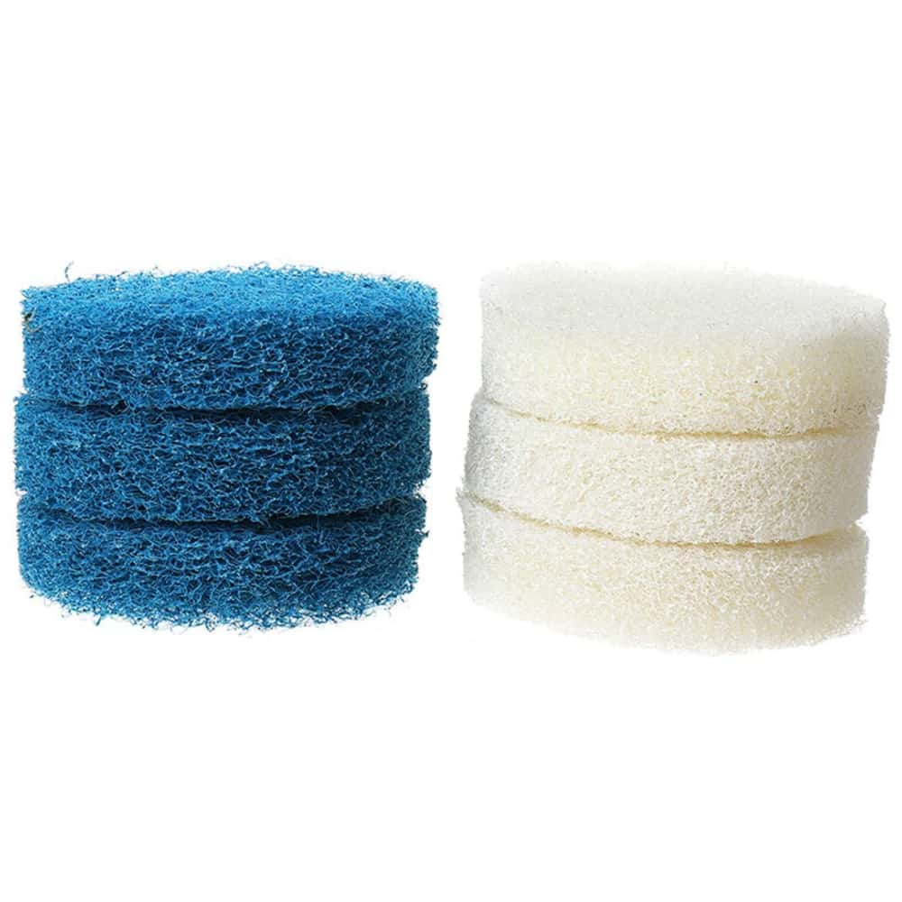 Scouring Pad Brush Electric Drill Clean Kitchen Floor Hard: 9Pcs Tile Grout Power Drill Brush Scrubber Cleaning Tub